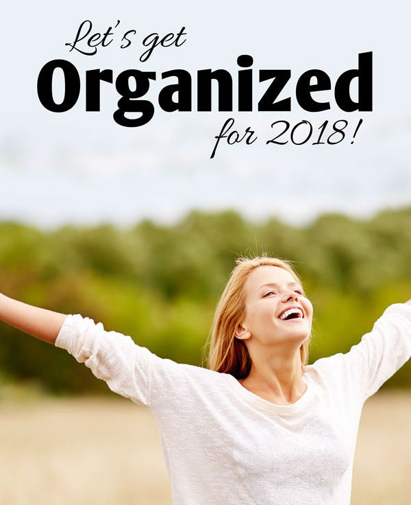 get organized in 2018 with Self Storage