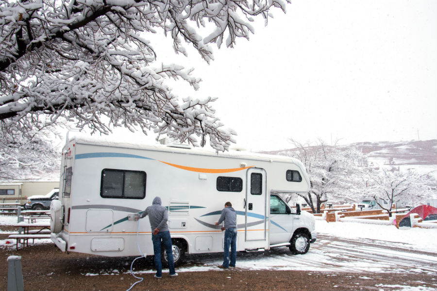Winterizing Your RV - Tips for RV Storage