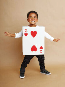 deck of cards costume