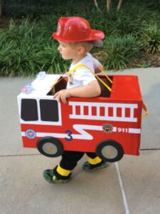 fire engine Halloween costumes