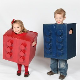 Halloween Costumes to Make out of Moving Boxes
