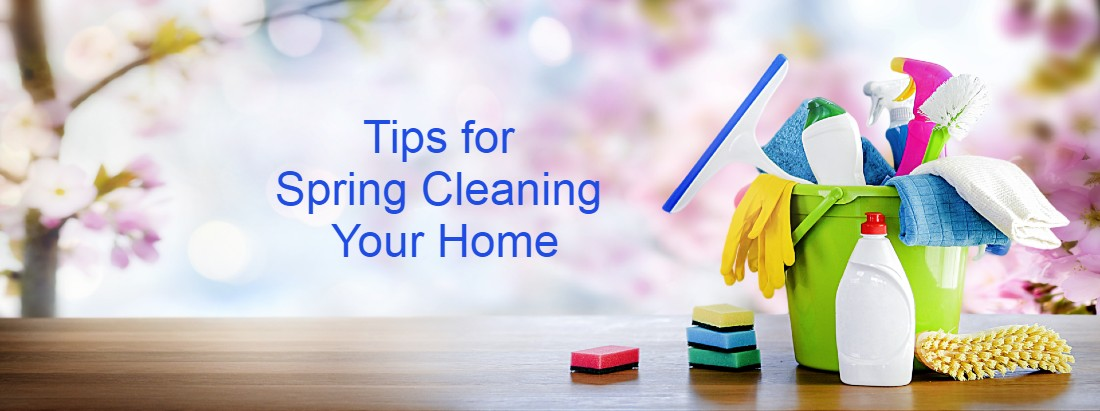Spring cleaning - tips for cleaning your home