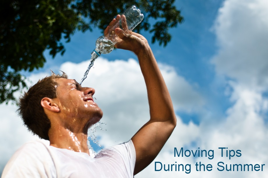 moiving tips during the summer to avoid the heat