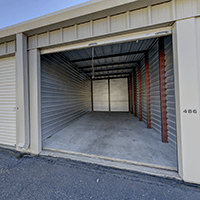 10 x 30 storage unit 300 square feet or 2400 cubic feet