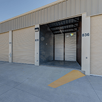 12.5 x 25 storage unit in colorado springs, 312.5 square feet or 4375 cubic feet