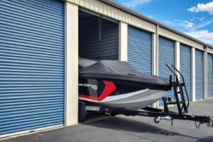 indoor vs outdoor boat storage in storage unit