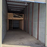 12.5x50 Mezzanine storage unit