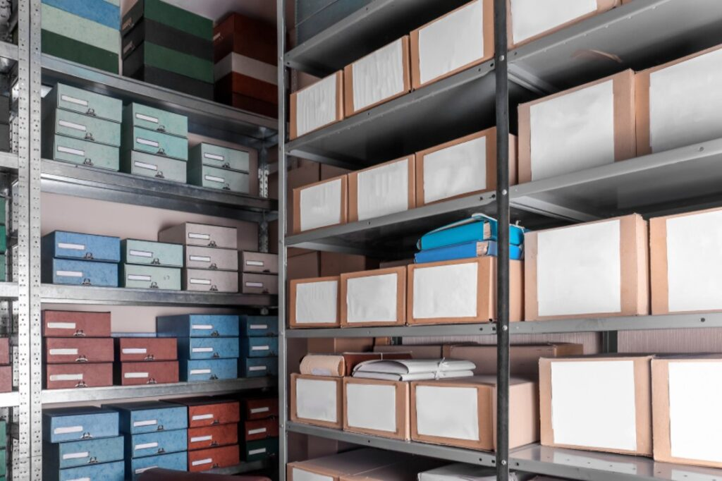 how to organize your storage space