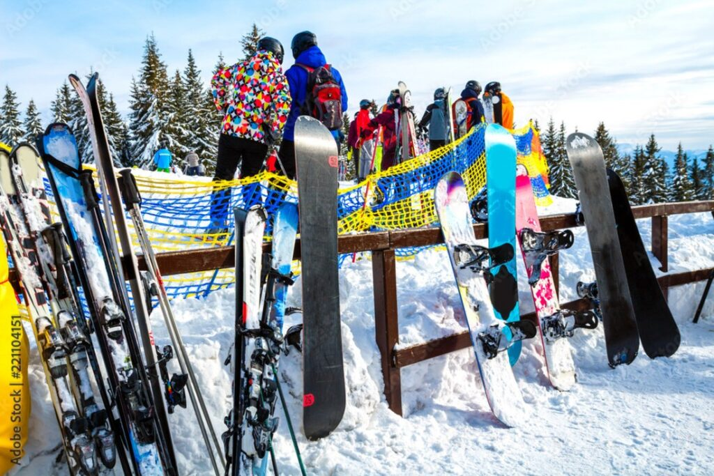 storing your snowboards skis and winter gear off season